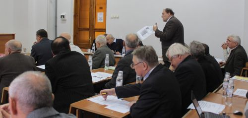 Дискусія підчас захисту дисертації